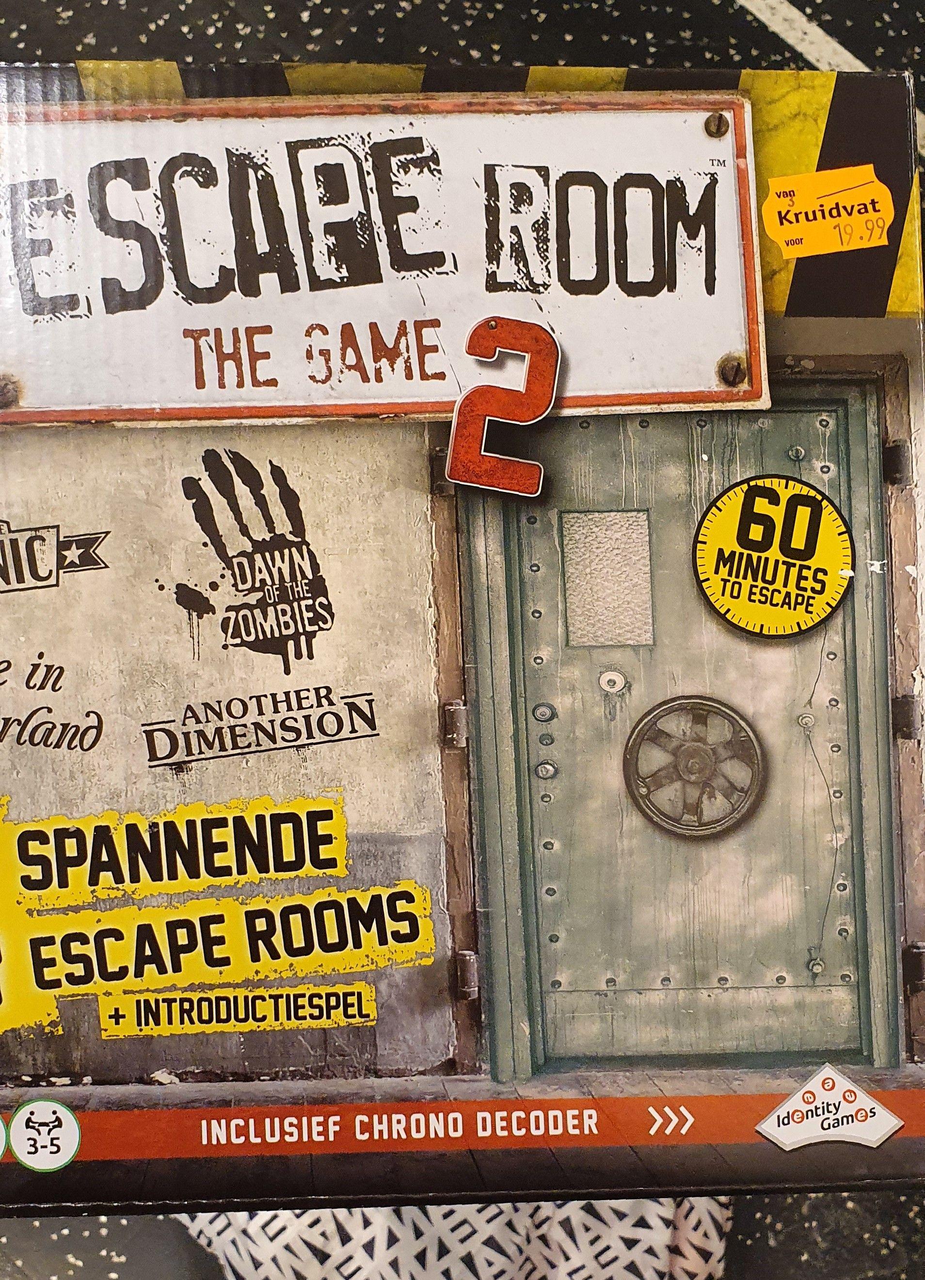 Escape Room The Game 2 @ Kruidvat