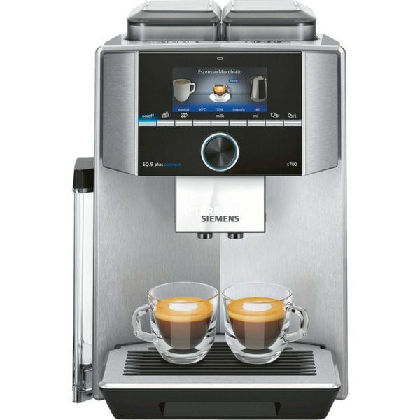 Siemens koffiemachine EQ9 plus s700