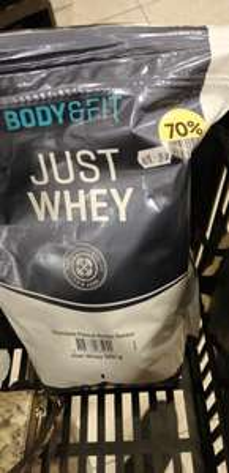 Whey / Proteïne poeder body & fit - Etos - met 70% korting!