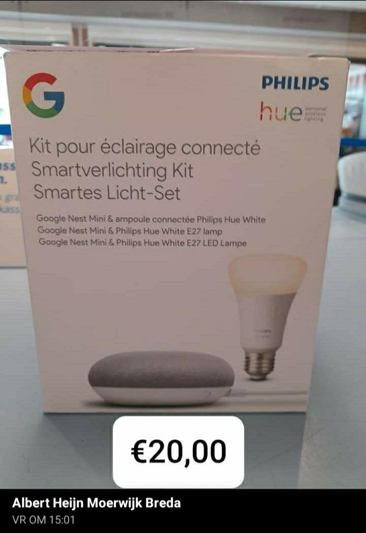 [Lokaal breda] Google smartverlichting kit