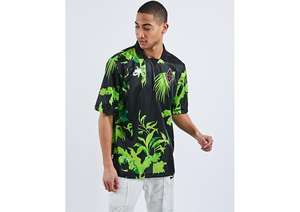 Footlocker Nike Nsw All Over Print Stripe - Heren Polo Shirts