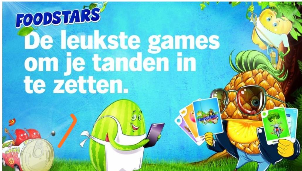 Foodstars Kaarten: nieuwe spaaractie @ Albert Heijn