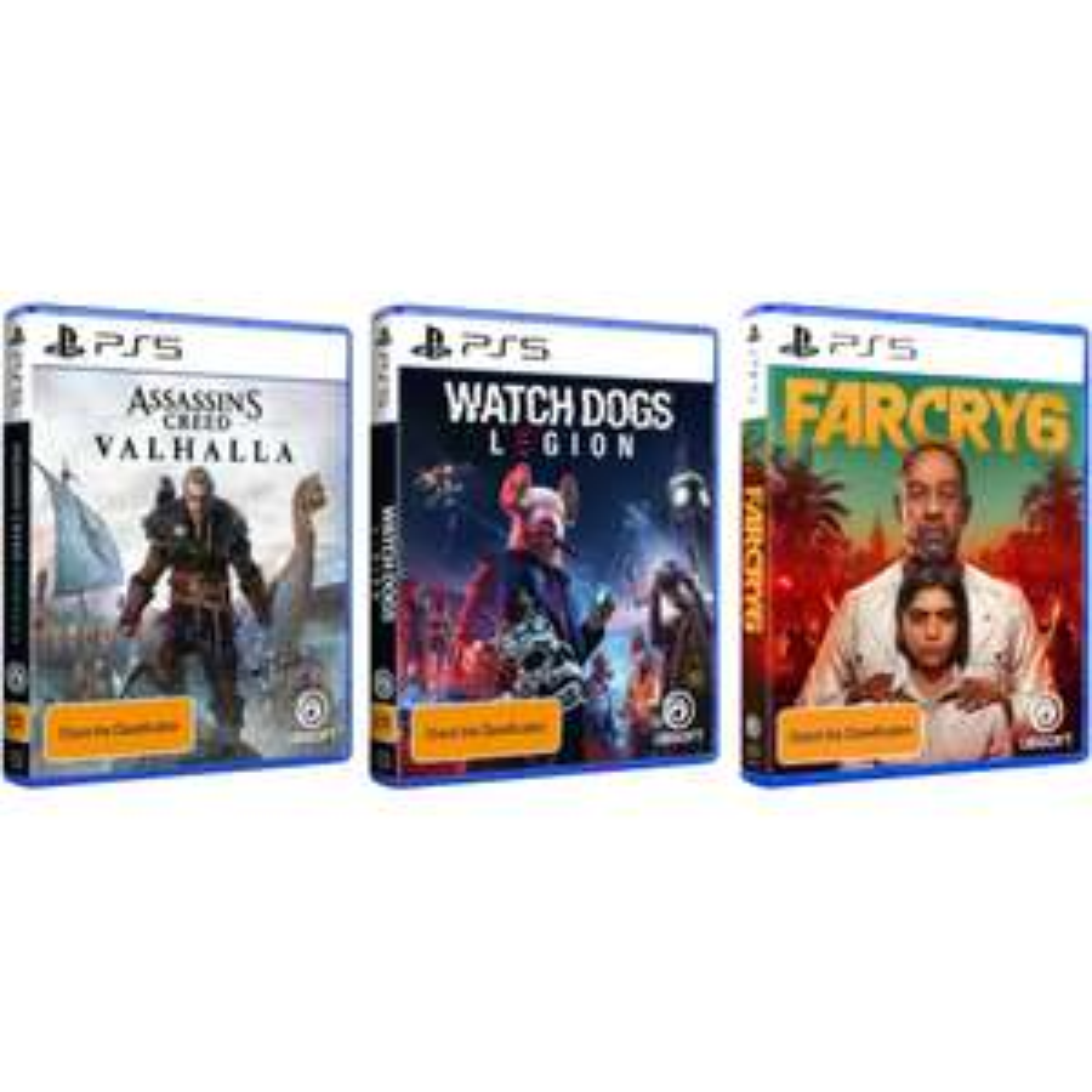 PlayStation 5 - Verschillende Ubisoft titels (Fysieke discs / Pre-order)