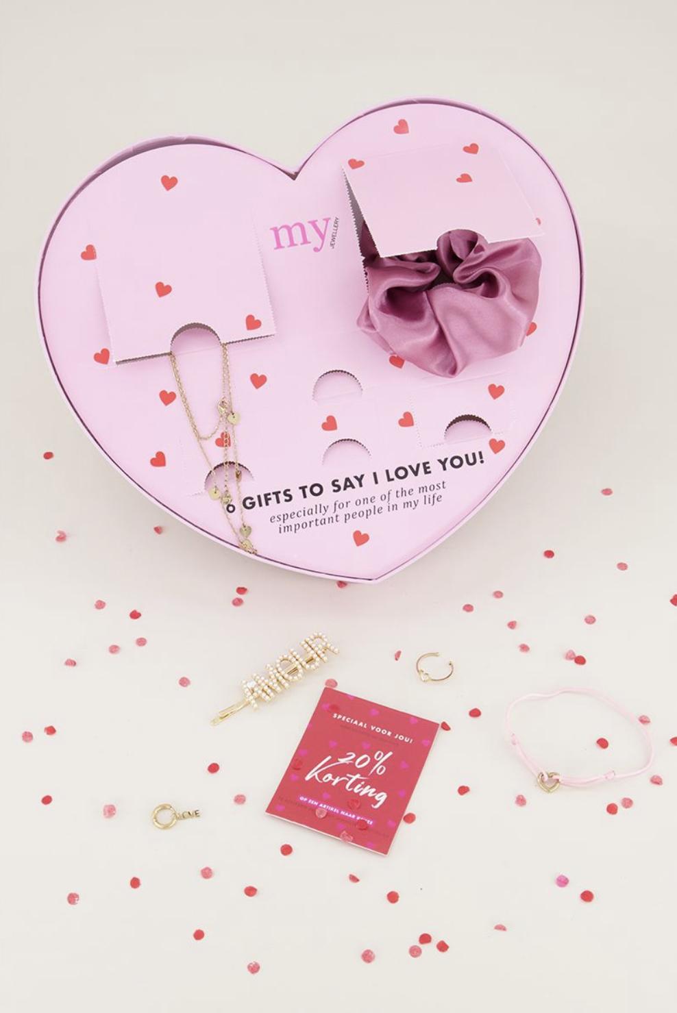 "My Jewellery ""I love you giftbox"" 77% +10% extra korting met kortingscode"