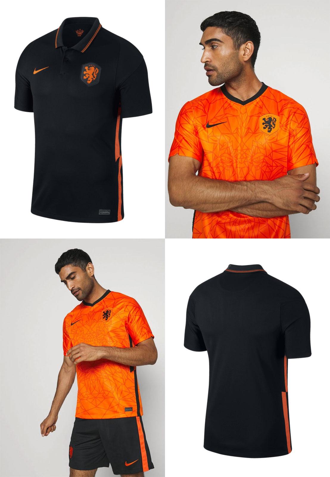 Nederland thuis / uit shirt EK 2020 [Nike] @ Geomix