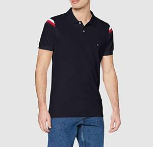 Tommy Hilfiger Statement Slim fit polo donkerblauw voor €22,92 @ Amazon.nl