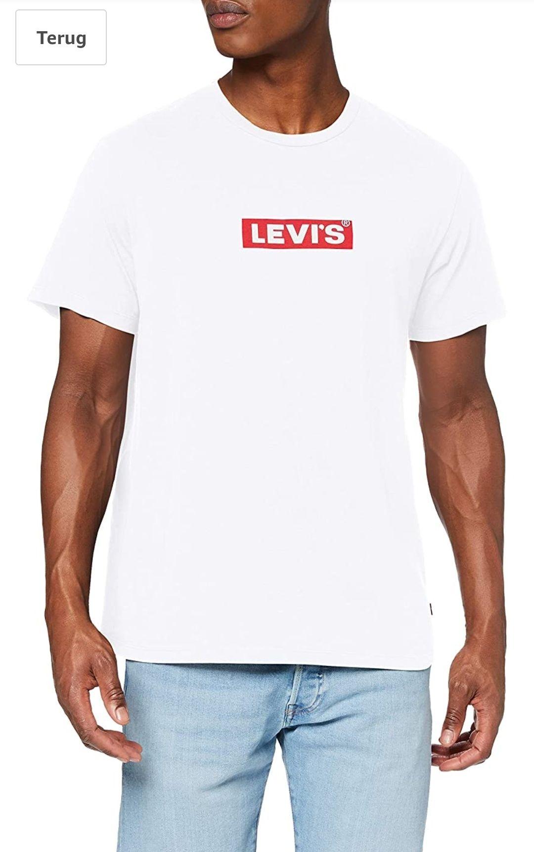 Levi's heren t-shirt Boxtab Graphic Tee