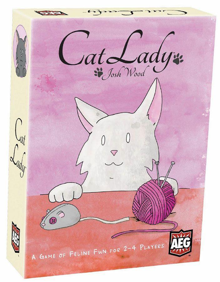 Cat Lady Kaartspel Duitse versie