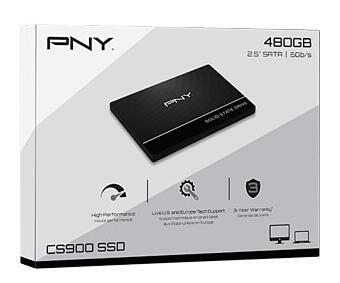 PNY 480GB SSD voor 43 euro maar met hoge verzendkosten.