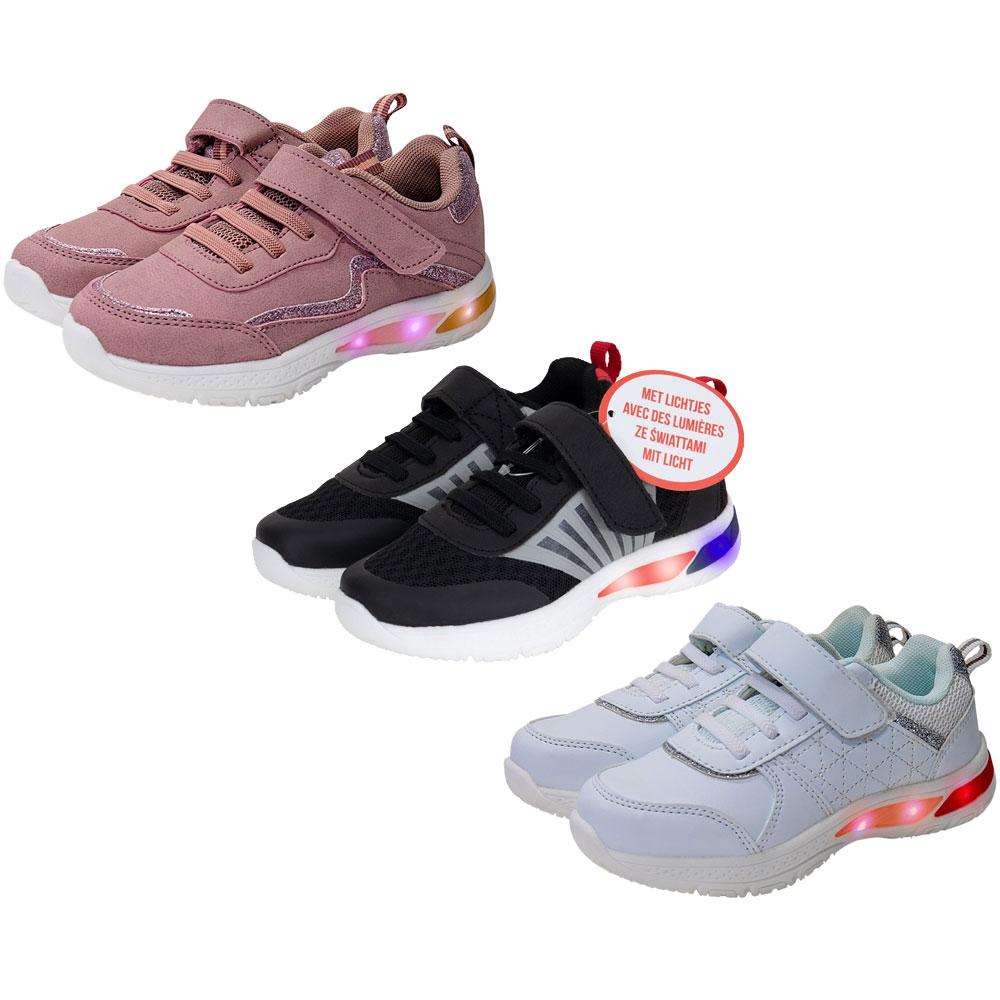Sneakers met lichtjes [mt 24 t/m 29] @ Action
