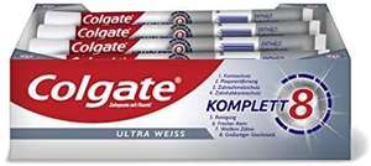(Abonneren&besparen) Colgate Complete Ultra White tandpasta, 12 stuks (12 x 75 ml)
