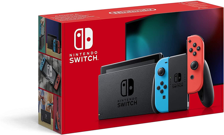 Nintendo switch rood/blauw 2019