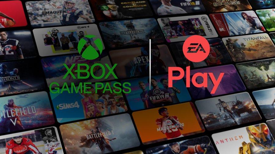 EA Play game-lidmaatschap gratis voor Xbox Game Pass Ultimate Leden
