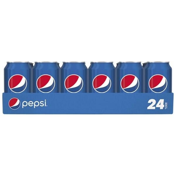 48 blikjes (16 liter) Pepsi voor €14,98 & gratis thuisbezorgd @ Trekpleister