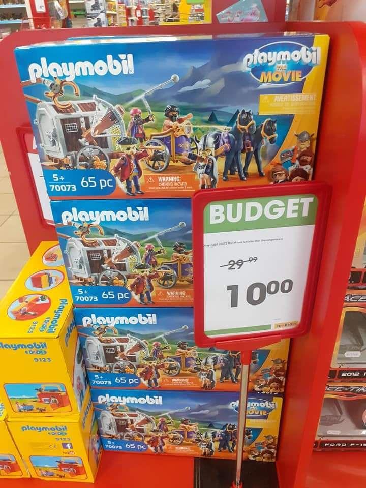 Playmobil 70073 the movie