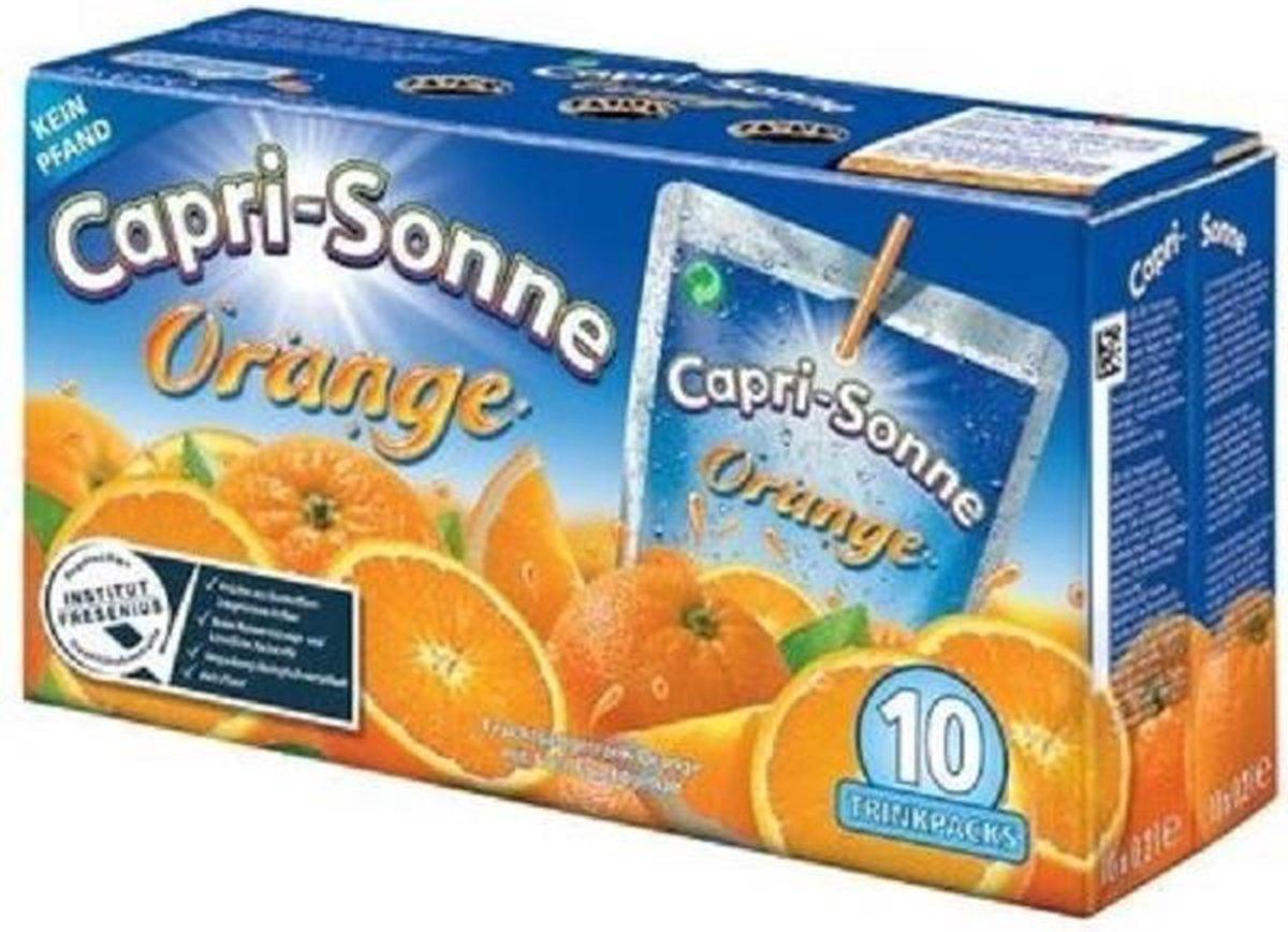 80 drinkpakjes (16 liter) Capri Sun Orange of Multivitamine voor €19,98 & gratis thuisbezorgd @ Trekpleister