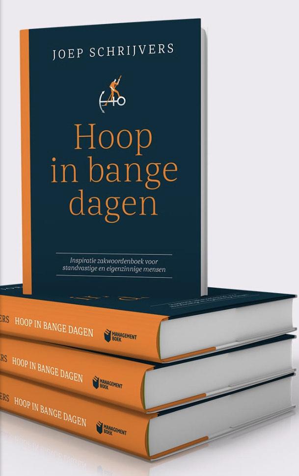 Gratis managementboek 'Hoop in bange dagen'