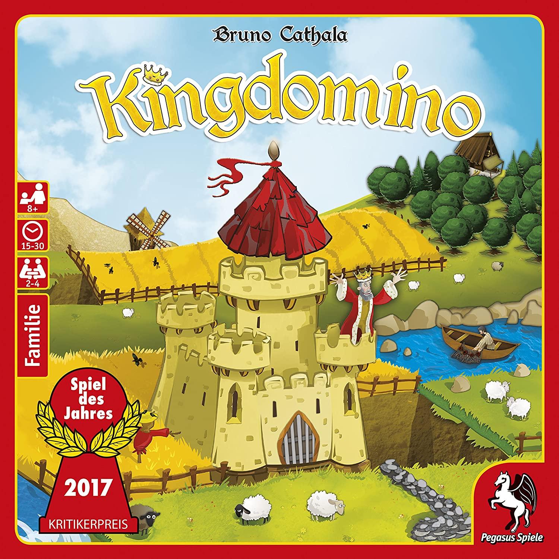Kingdomino (Duitse editie - taalonafhankelijk) bordspel voor €8,33 @ Amazon NL