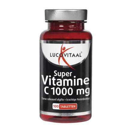 100 tabletten Lucovitaal vitamine C1000 @ Aldi