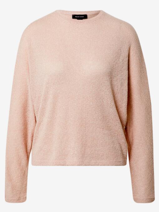 New Look fijngebreide dames trui roze voor €5,31 (oorspronkelijk €22,90) @ About You