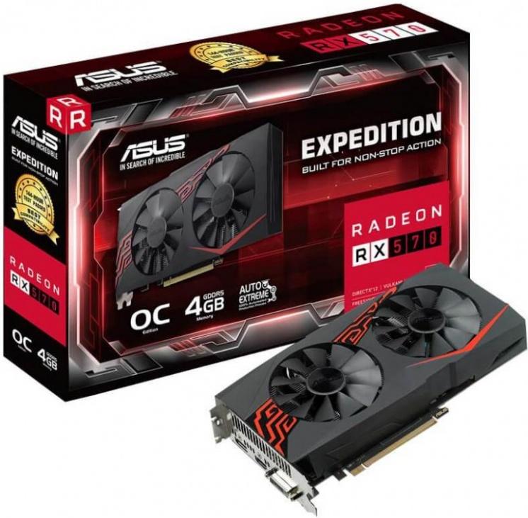 Asus RX 570 OC edition 4GB GDDR5