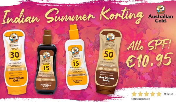 Alle zonnebrandcrèmes voor €10,95!