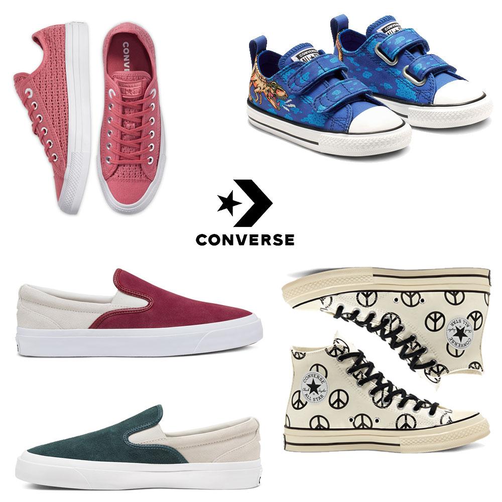 SALE - veel nieuws toegevoegd + 20% extra @ Converse