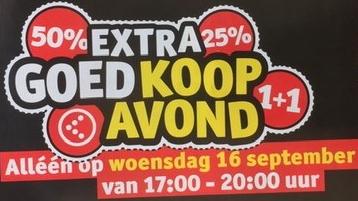 3x 20% korting tijdens de GoedKoopavond woensdagavond 16 september @ Kruidvat