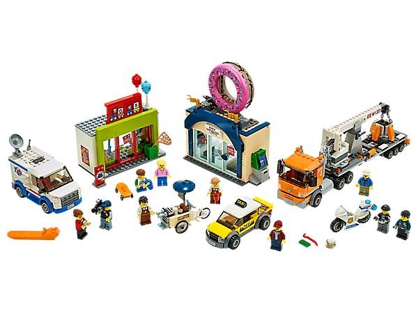 Lego City Opening donutwinkel (60233)