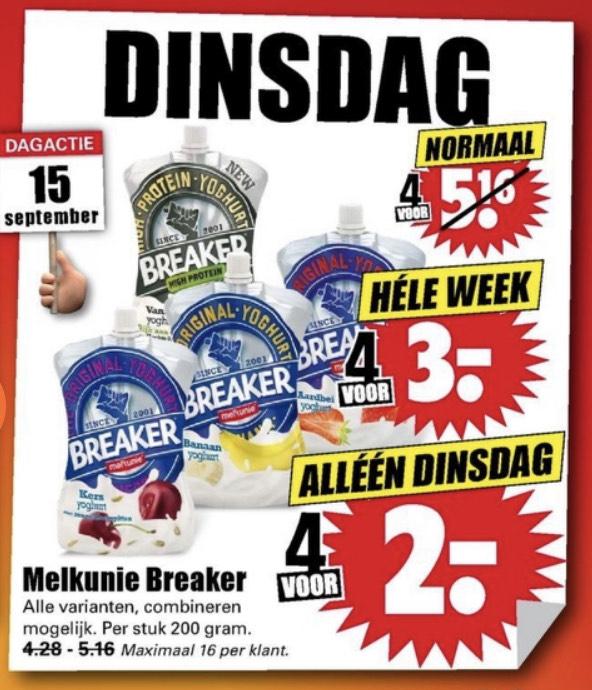 [Dirk] Breaker 4 voor €3