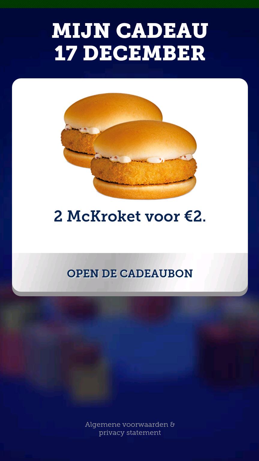 2 McKroket voor €2.