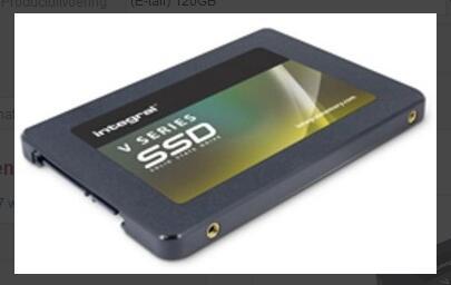 Integral SSD 120GB bij Update voor 15,95 (6e verzenden)
