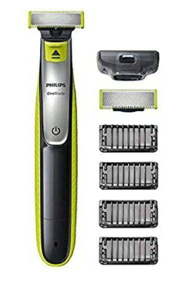 Philips OneBlade Face QP2530/30 met 2 extra mesjes en 4 stoppelkammen