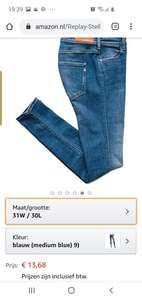 Replay dames jeans