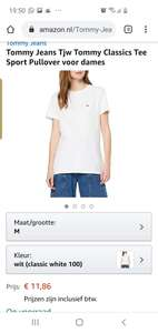 Tommy jeans dames t shirt