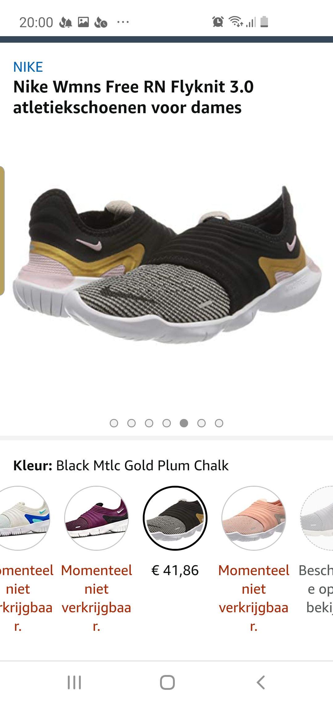 Nike Wmns Free RN Flyknit 3.0 atletiekschoenen voor dames