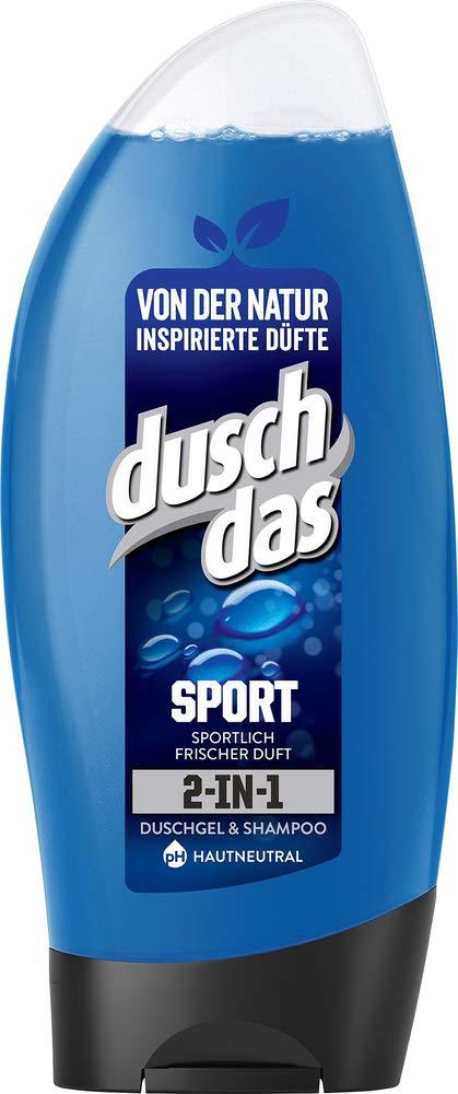 Duschdas Douchegel, verpakking van 6 stuks (6 x 250 ml) Sport douchegel voor mannen sport