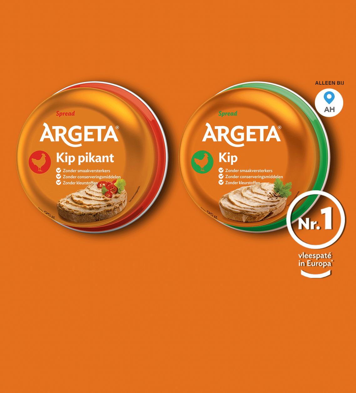 Argeta paté (erg lekker al lijkt het op kattenvoer!) @scoupy