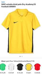 NIKE uniseks-kind polo Dry Academy18 Football-899991
