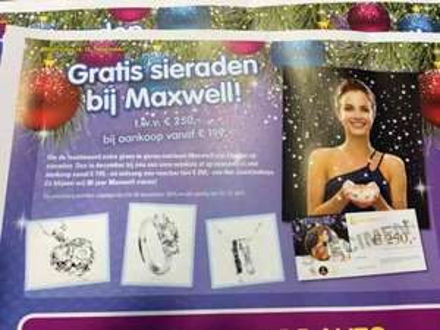 Gratis sierraad bij Maxwell twv 250 @ maxwell