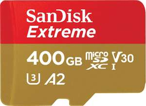 Sandisk Extreme 400GB Micro SD