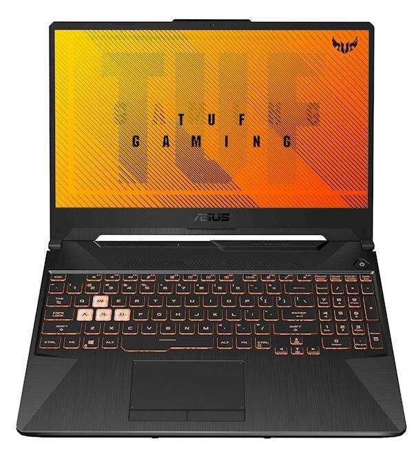 Asus TUF Gaming laptop Ryzen 4800H met GTX 1660Ti