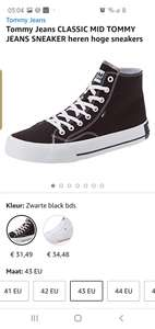 Tommy Jeans sneakers @ Amazon.nl