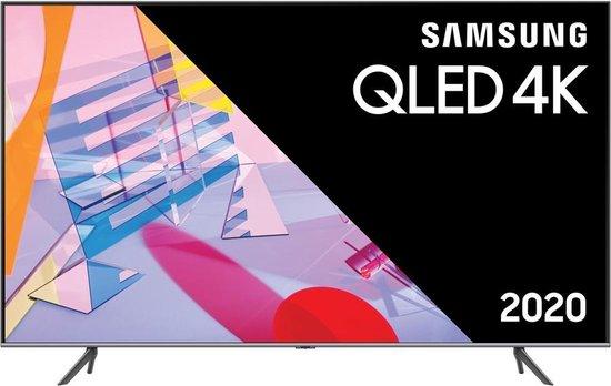 Samsung QLED Q55Q67T Zilver