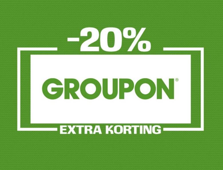 20% extra korting op lokaal (code t/m 25 september te gebruiken) @ Groupon NL