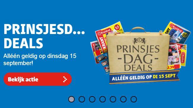 Prinsjesdagdeals @ Kruidvat bijv. 500ml Kruidvat Shampoo of Conditioner voor €0,69