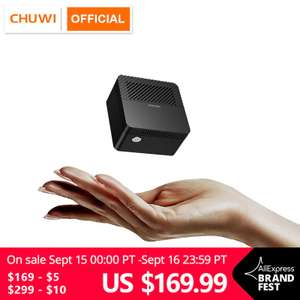 CHUWI LarkBox Mini-PC voor € 142,63 (+ andere CHUWI deals) @ Aliexpress