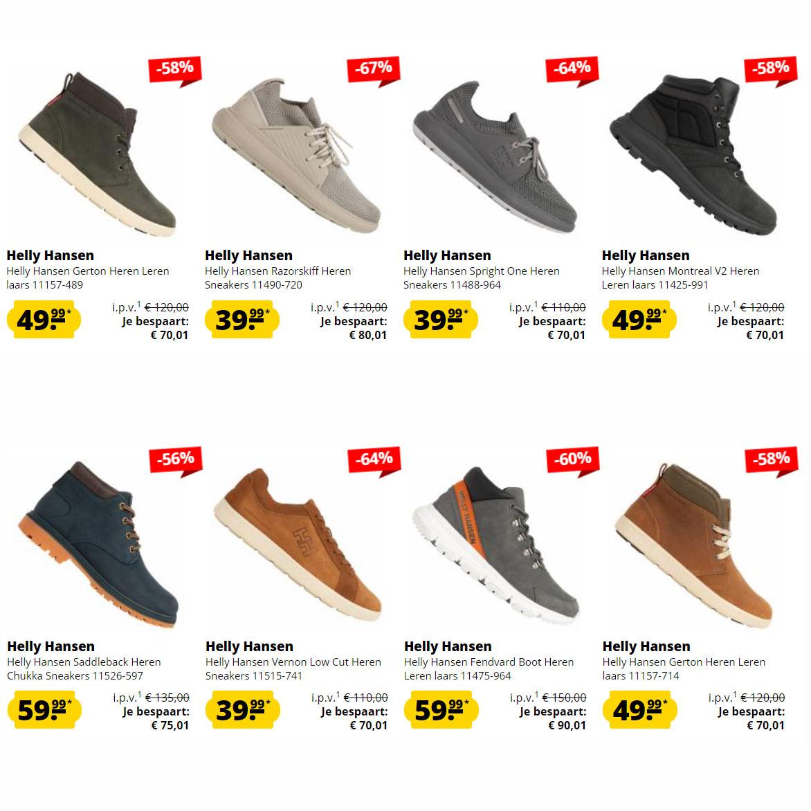 Helly Hansen sneakers / schoenen tot -67% @ Sport-Korting