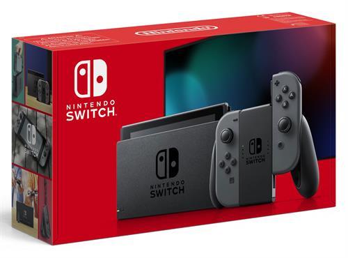 Nintendo Switch 2019 model Grey of Neon