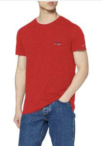 Tommy jeans basic shirt rood